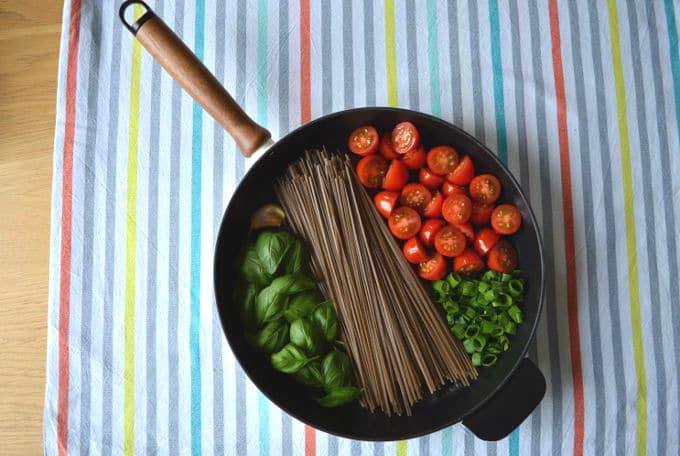One Pan Soba Noodles My Gut Feeling