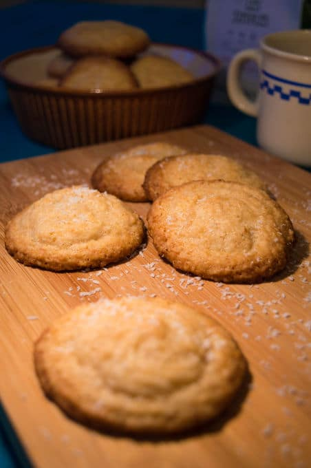 Coconut and Lemon Cookies | mygutfeeling.eu