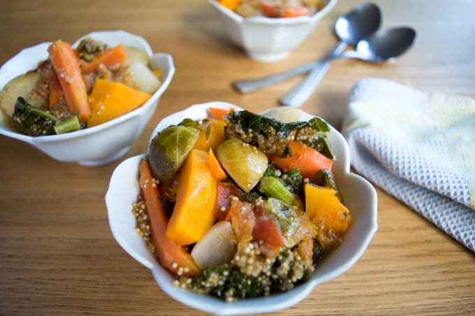 Winter Vegetables Ragout w/ Kale and Quinoa | mygutfeeling.eu