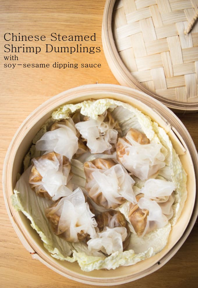 Chinese Steamed Shrimp Dumplings / mygutfeeling.eu #glutenfree