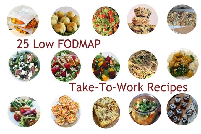 25 Low FODMAP Take-To-Work Recipes