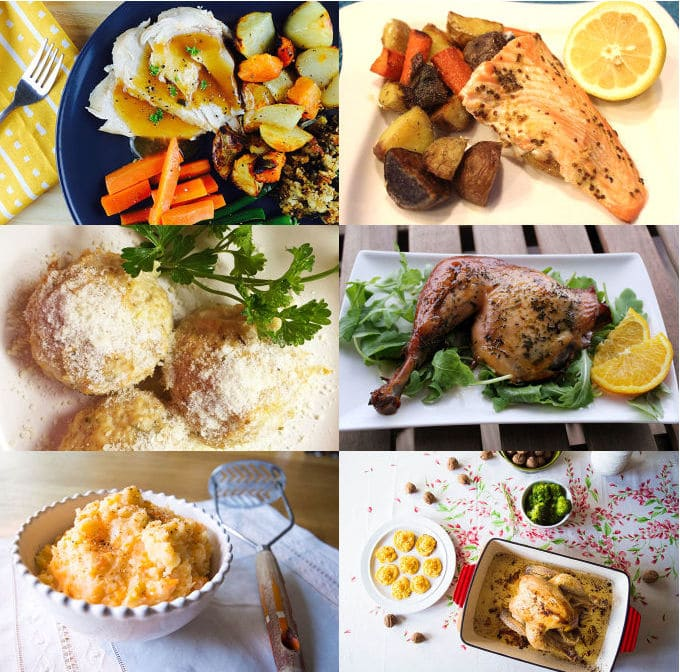 Low FODMAP Xmas Main Dishes - mygutfeeling.eu