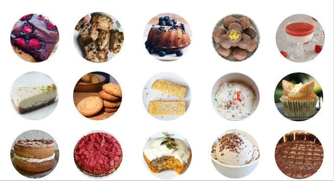 Low FODMAP desserts / mygutfeeling.eu