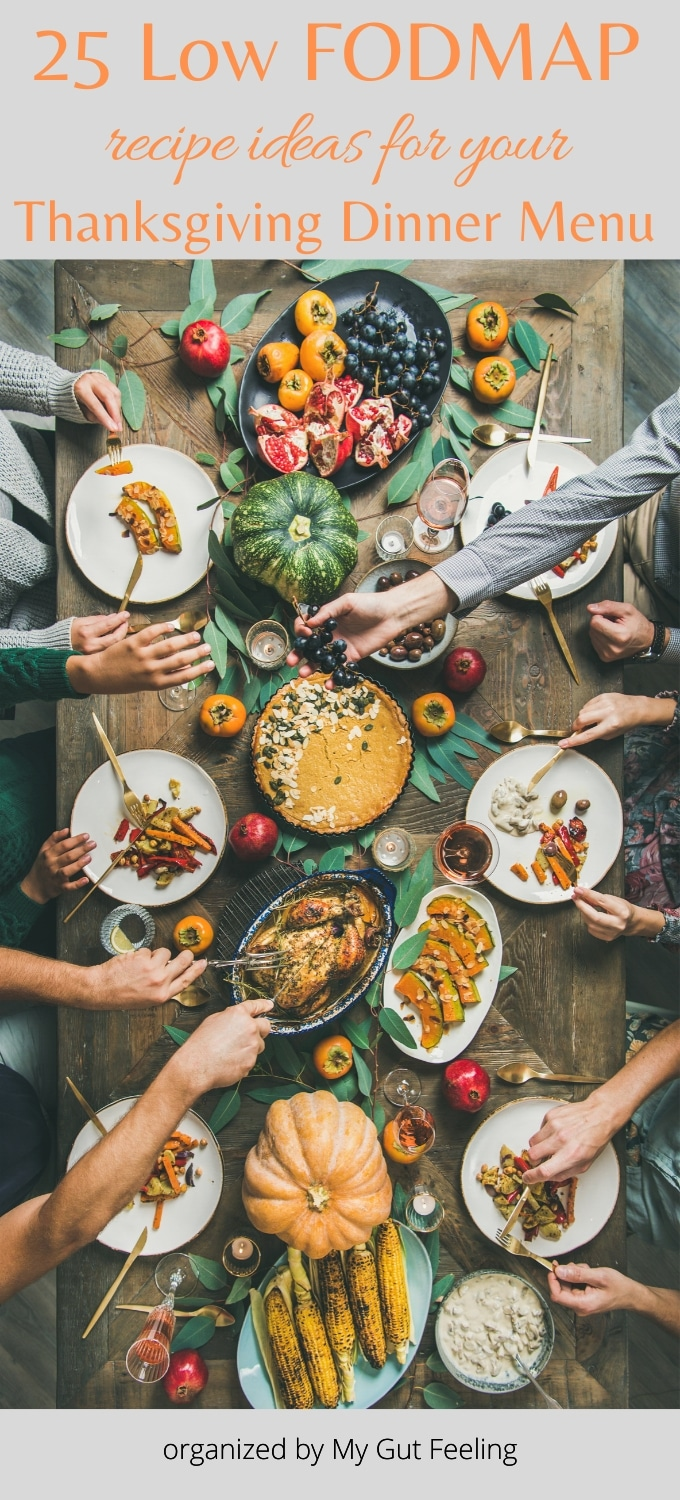 25 Low Fodmap Recipe Ideas For Your Thanksgiving Dinner Menu My
